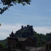Oberwesel le château de Schönburg
