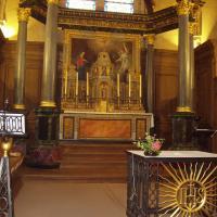 Paimpont  l'église de l'abbaye