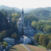 la basilique vue du château