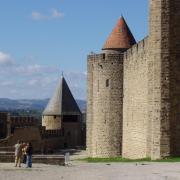 à l'intérieur de la citadelle