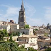 saint Emilion  l'église monolythe