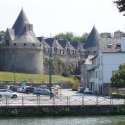 Pontivy  le château