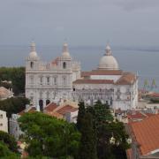 église saint Vincent quartier de l'Alfama