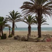 Rosas la plage