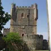Braganca le donjon  qui abrite le musée militaire