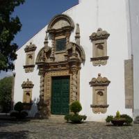 Braganca le portail  de l'église santa Maria