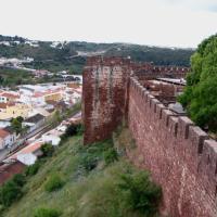 Silves les remparts de la forteresse
