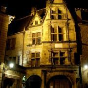 Sarlat by night  hotel de la Boétie