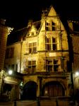 Sarlat by night  hotel de la Boétie