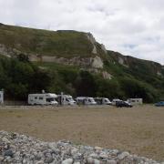 St Jouin Bruneval  les falaises