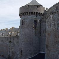 St Malo  la tour des remparts