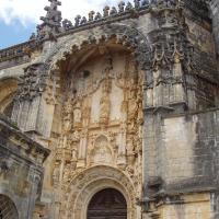 Tomar  l'entrée du monastère