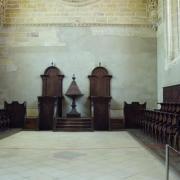 Tomar  église Manuéline intérieur