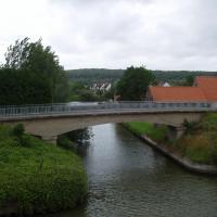 Watten  le canal de la Colme